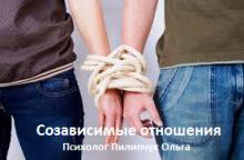 Расстановка на созависимые отношения